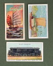 Collectible SIAM cigarette cards old Thailand #551
